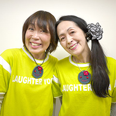 リーダー:「KC」こと森川慶記さん(左)、ティーチャー:「にこわこ」こと宮田和可子さん(右)